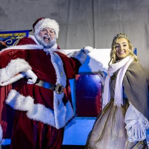 Santa Claus and Cinderella